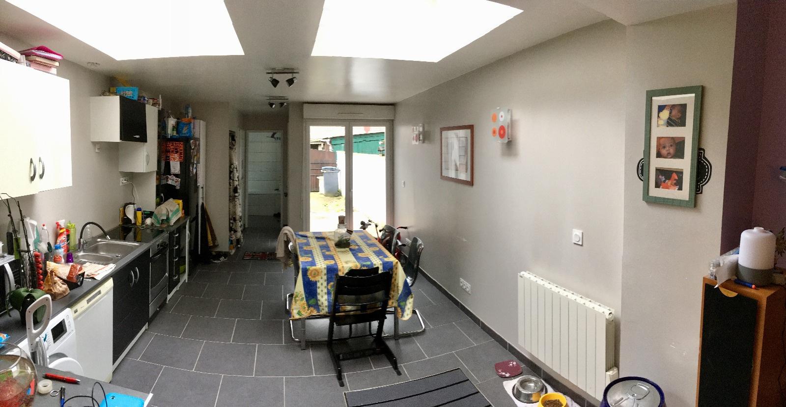vente a petit quevilly maison de ville renovee garage. Black Bedroom Furniture Sets. Home Design Ideas